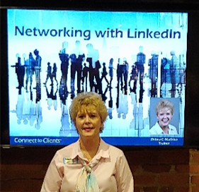 This image has an empty alt attribute; its file name is debra-mathias-networking-with-linkedin-5.png
